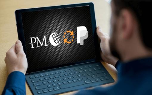 تبدیل وب مانی و پرفکت مانی به پی پل به صورت سریع